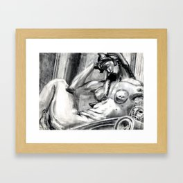 Bad Ass Ladies of Florence: Night Framed Art Print