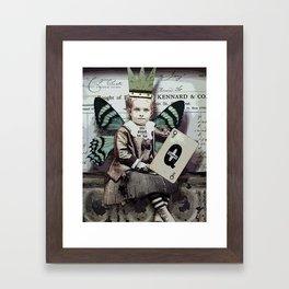 Good To Be Queen Framed Art Print