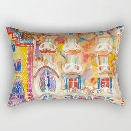 Casa Batllo Rectangular Pillow
