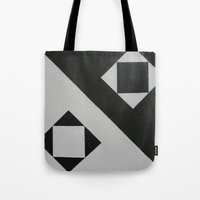 ying yang Tote Bags featuring Ying & Yang by Guilherme Poletti