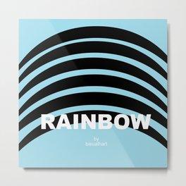 rainbow logo Metal Print