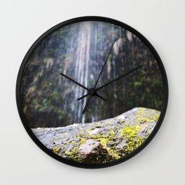 Water Falling Wall Clock