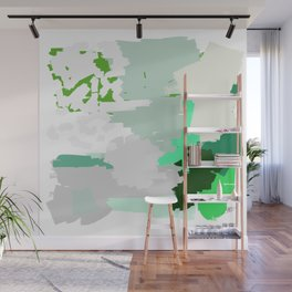Green Dynasty Wall Mural