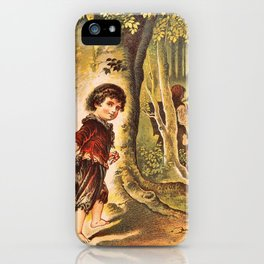 Hansel And Gretel - Digital Remastered Edition iPhone Case