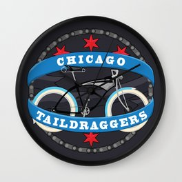 Chicago Taildraggers Wall Clock