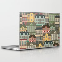 urban Laptop & iPad Skins featuring Urban by Julia Badeeva
