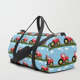 Toy tractor pattern Duffle Bag