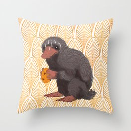 Fantastic Beasts and where to find them cookies Throw Pillow
