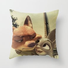 Zootopia Throw Pillow