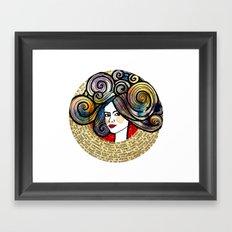 Kirmizi Framed Art Print