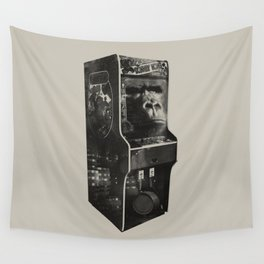 DONKEY KONG ARCADE MACHINE Wall Tapestry