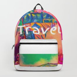 travel addict Backpack