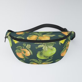 Cirtrus branches vintage custom pattern Fanny Pack