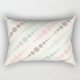 Dots [Pink] Rectangular Pillow