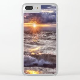 The Wonder of a Sunset Clear iPhone Case