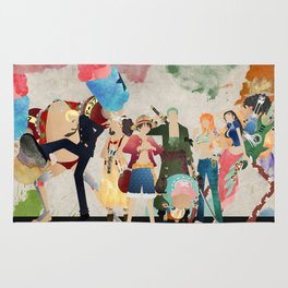 Straw Hat Pirates - One Piece Rug