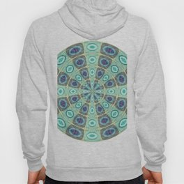 394 - Abstract Colour design Hoody