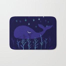 Whale Night Bath Mat