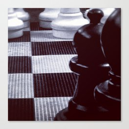 Chess Perspective Canvas Print