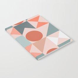 Mid Century Modern  Geometric 06 Notebook