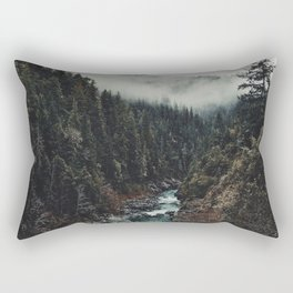 When the sky touch the wild Rectangular Pillow