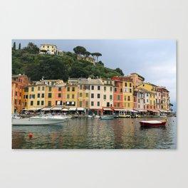 All About Italy. Piece 4 - Portofino Canvas Print