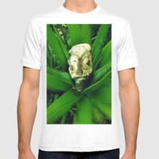 Petrified Fishhead Mens Fitted Tee White MEDIUM