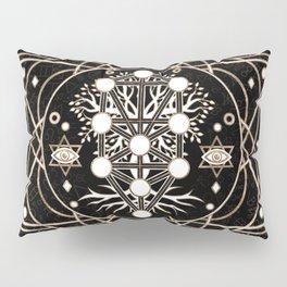 Kabbalah The Tree of Life Sacred Geometry Ornament Pillow Sham
