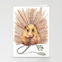 hamster Stationery Cards featuring Hamster by Creative Stace