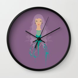 Wash Away Wall Clock
