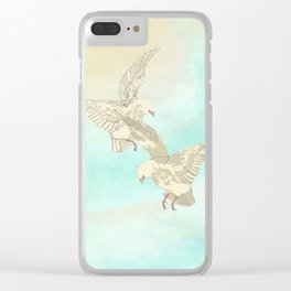 Airborne Clear iPhone Case