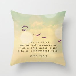 Independent Will Throw Pillow