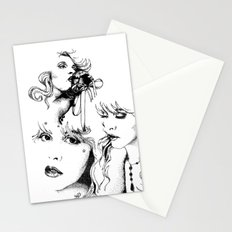 Trois Stationery Cards