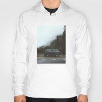 van Hoodies featuring Northwest Van by Kevin Russ