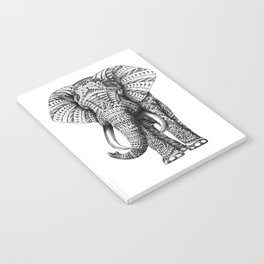 Ornate Elephant Notebook