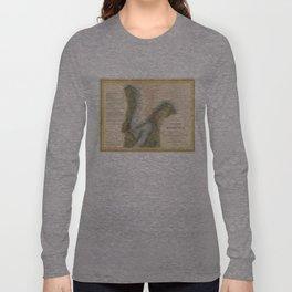 Vintage Martha's Vineyard Holmes Hole Map (1847) Long Sleeve T-shirt