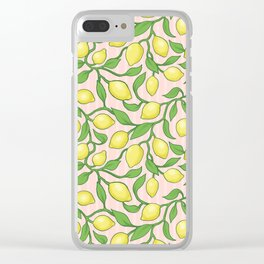 Pink Lemonade Clear iPhone Case