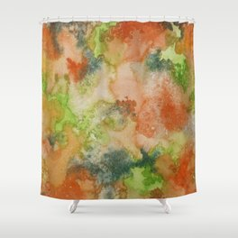 strange visions 13 Shower Curtain