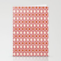 ikat Stationery Cards featuring Ikat by Jay Hooker Designs