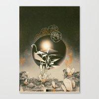 prometheus Canvas Prints featuring Prometheus  by Santiago Sarquis