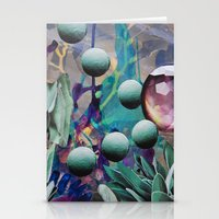 pills Stationery Cards featuring Pills by John Turck