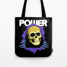 The POWER of Greyskull - He-Man Tote Bag