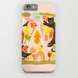 Charmed - Pink and Green iPhone Case