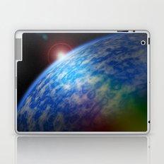 cloudy planet Laptop & iPad Skin