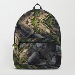 Fantasy Aerial View of Pyramid Backpack