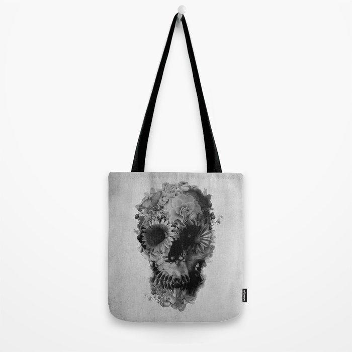 Skull 2 / BW Tote Bag