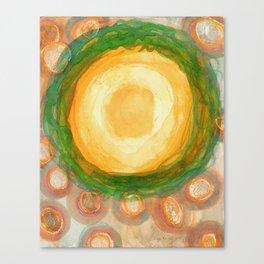 The green Wreath Canvas Print