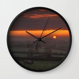 Mystical Moment Wall Clock