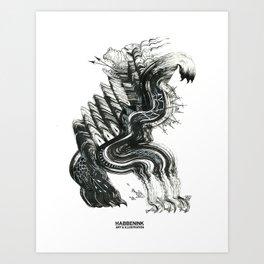 The Floods Art Print
