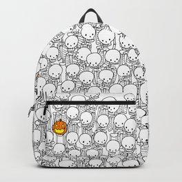 Ghost among skeletons Backpack